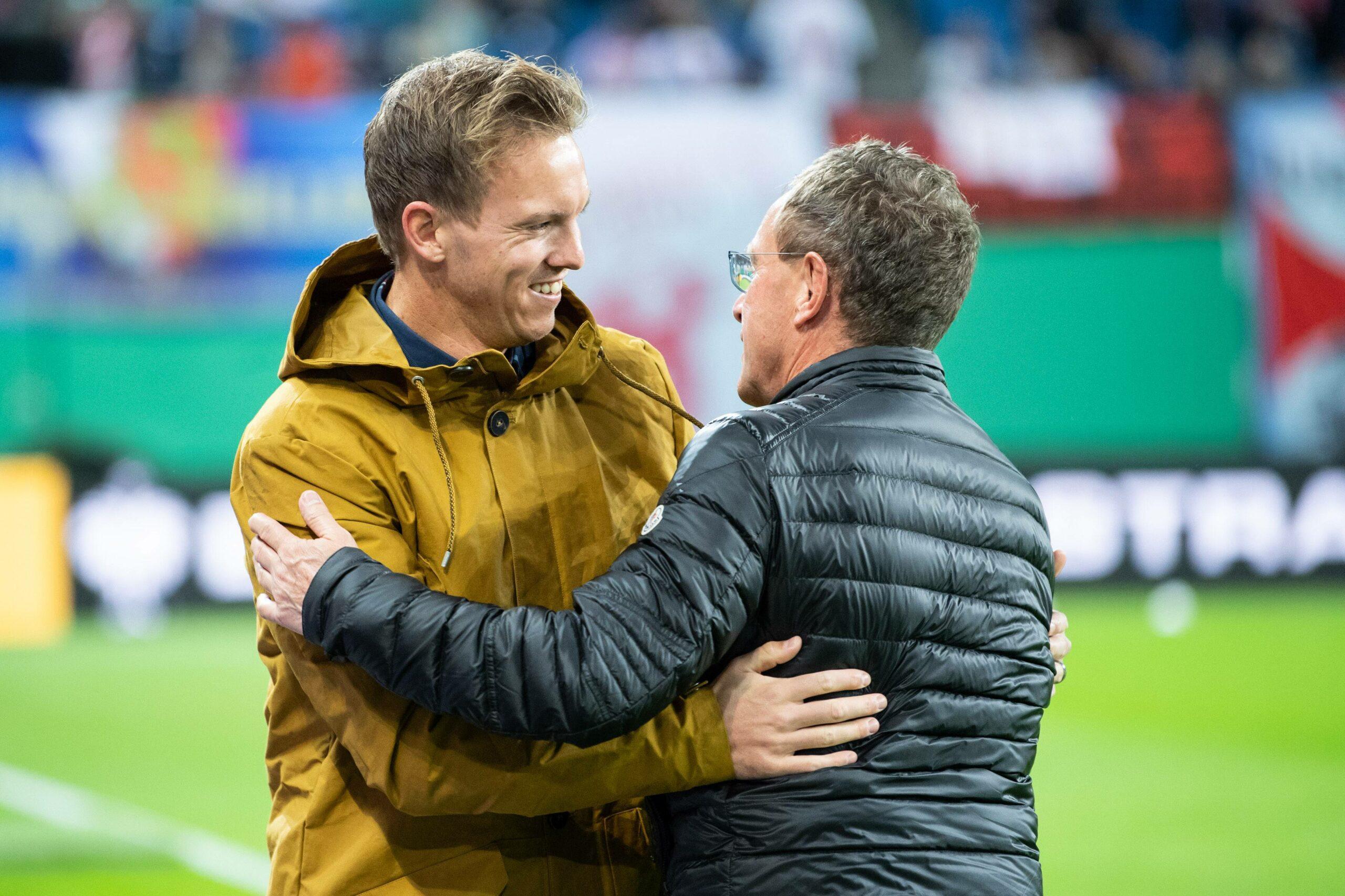 Ralf Rangnick und Julian Nagelsmann