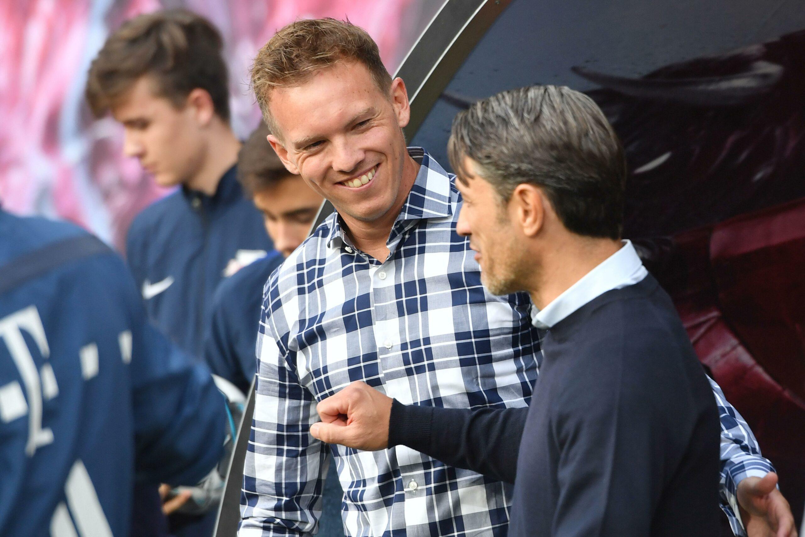 Julian Nagelsmann und Niko Kovac