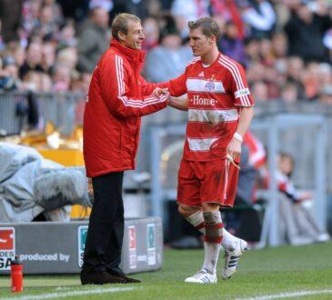 Jürgen Klinsmann und Bastian Schweinsteiger